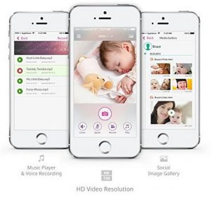 Features of the iBaby M6T Video Monitor iPhone App