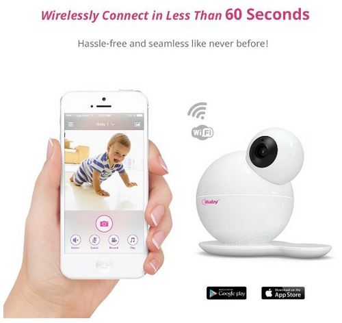 iBaby M6T Video Monitor iPhone App