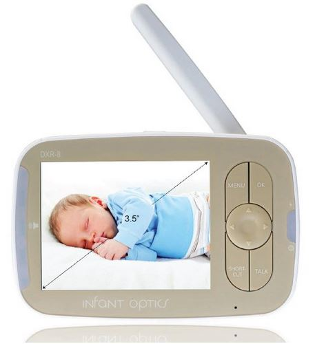 Screen Width of the Infant Optics DXR8