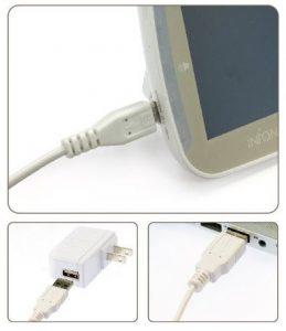 InfantOptics DXR 8 USB and AC Charger