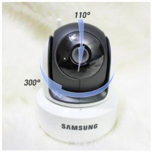 Samsung SEW 3043W Pan and Tilt Angles